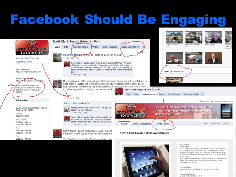 Facebook Should Be Engaging