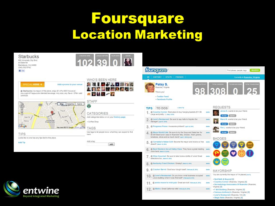 Foursquare Location Marketing