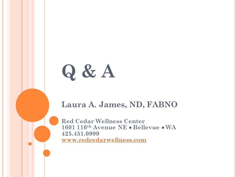 Q & A Laura A.