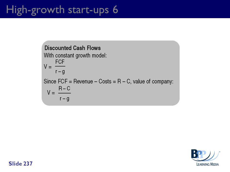 High-growth start-ups 6 Slide 237