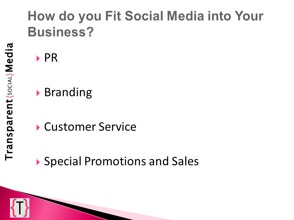 PR Branding Customer Service Special Promotions and Sales