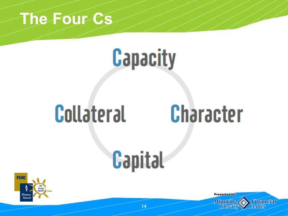 14 The Four Cs