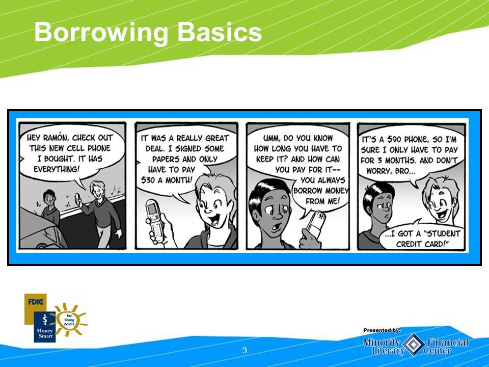 3 Borrowing Basics