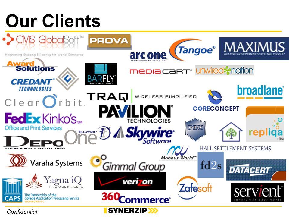 Confidential Our Clients