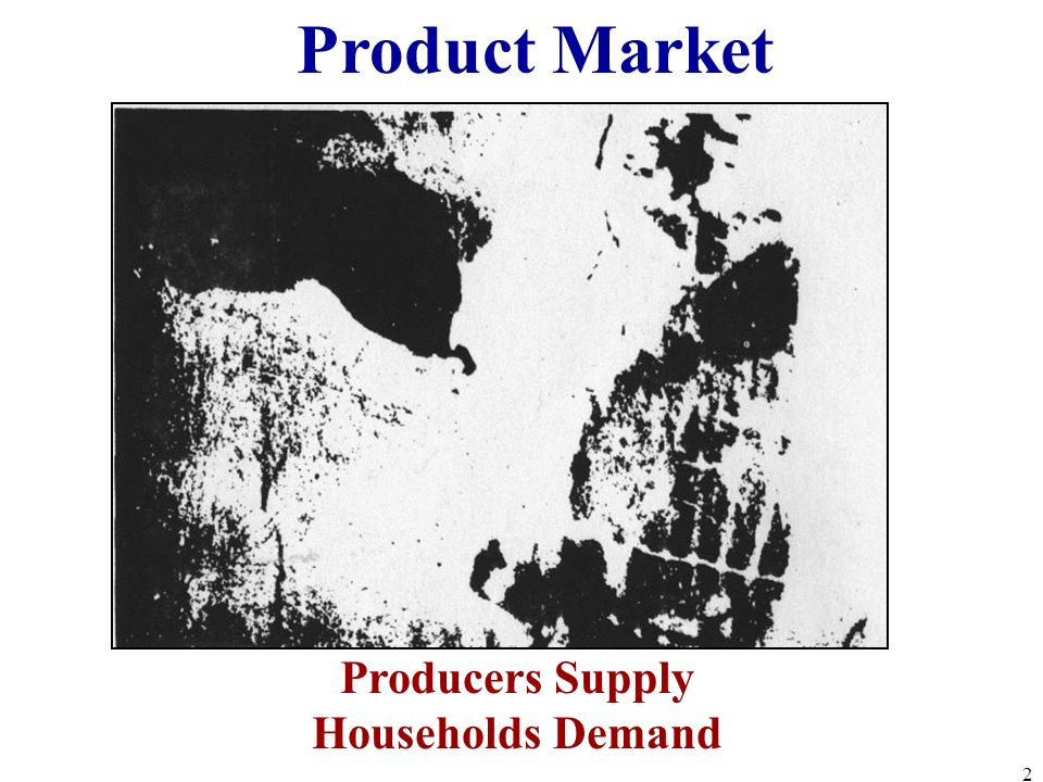 Producers Supply Households Demand Product Market 2
