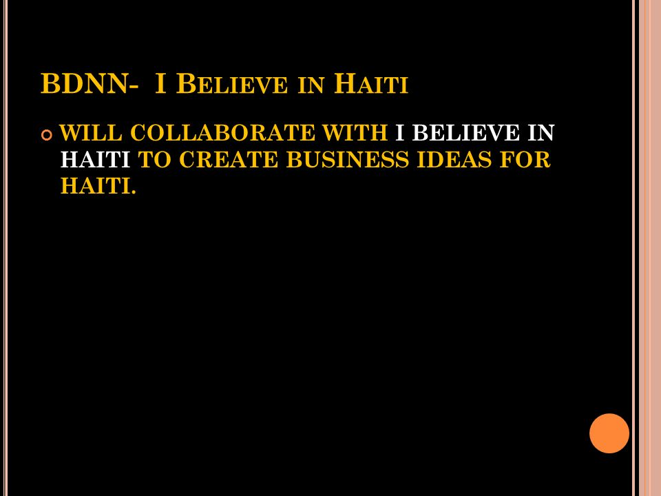 THE HAITI SOFTHOUSE PARTNERS / FUNDER M ANUFACTURER : F ABRIC I MAGES, E LGIN I LLINOIS M ARCO A LVAREZ, CEO; F ABRIC I MAGES S AM L UGIANO ; A RCHITE