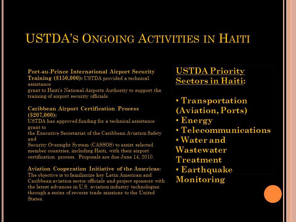 Q UESTIONS & U SEFUL W EBSITES U.S. Dept. Commerce, International Trade Admin. - Office of North & Central America & Caribbean (202) 482-0393 - Office