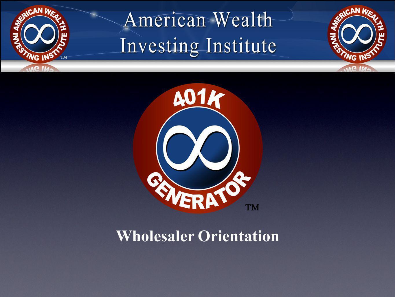 Wholesaler Orientation