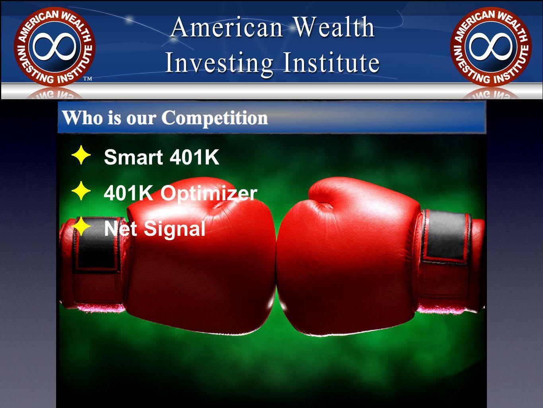 Smart 401K 401K Optimizer Net Signal