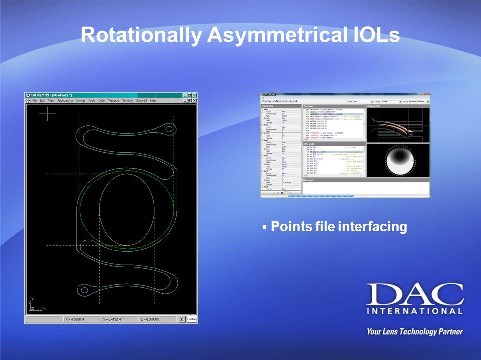 Rotationally Asymmetrical IOLs Points file interfacing