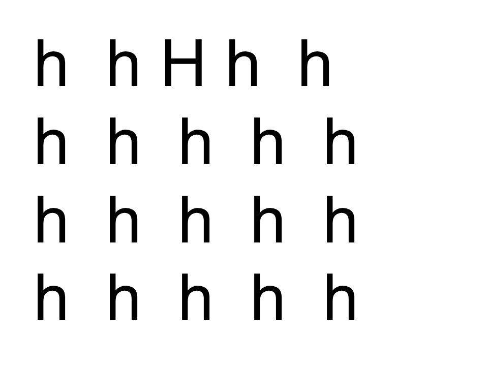 h h H h h h h h h h