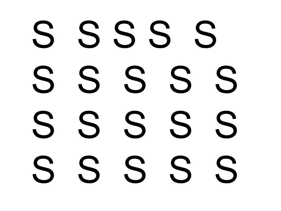 S S S S S