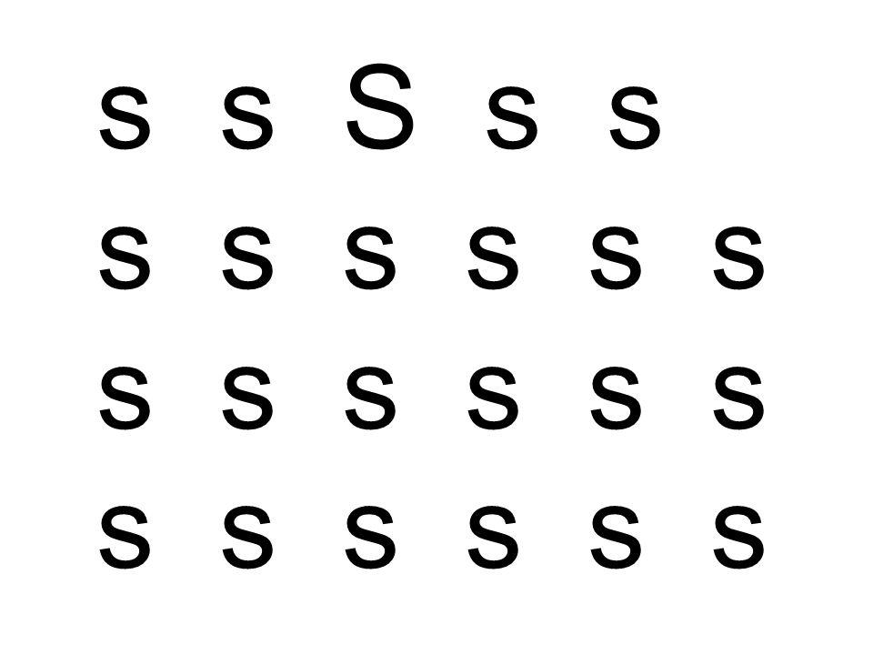s s S s s s s s