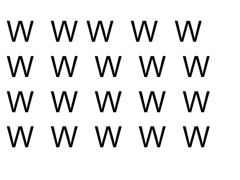 W W W W W