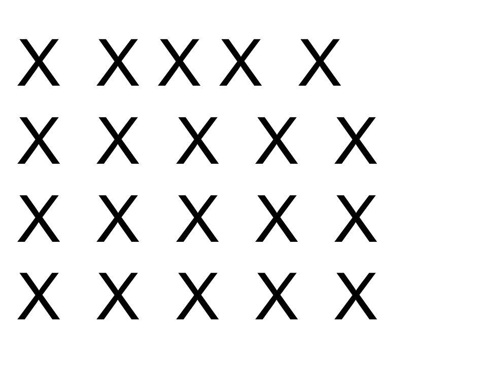 X X X X X