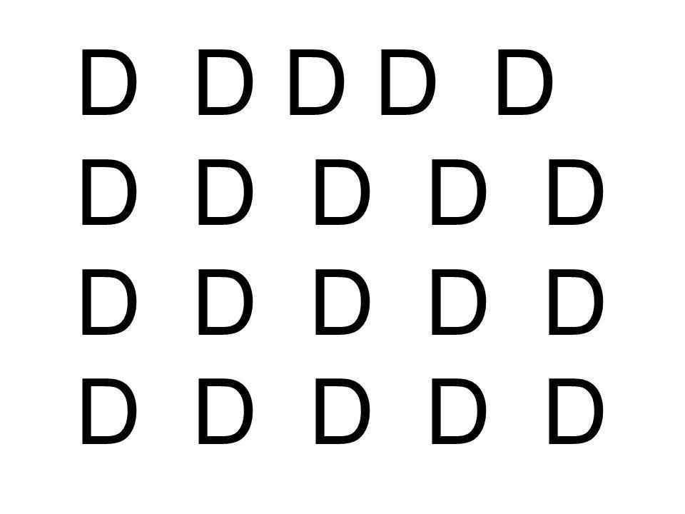 D D D D D