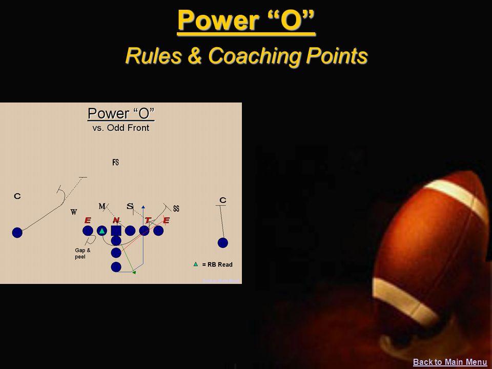 Power O Rules & Coaching Points Back to Main Menu