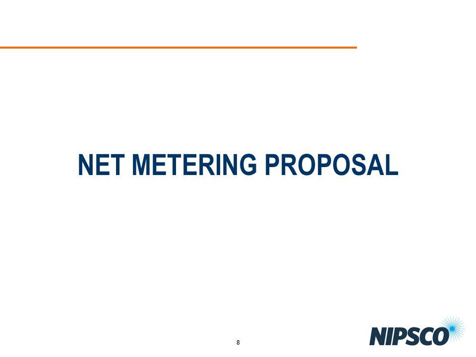 8 NET METERING PROPOSAL