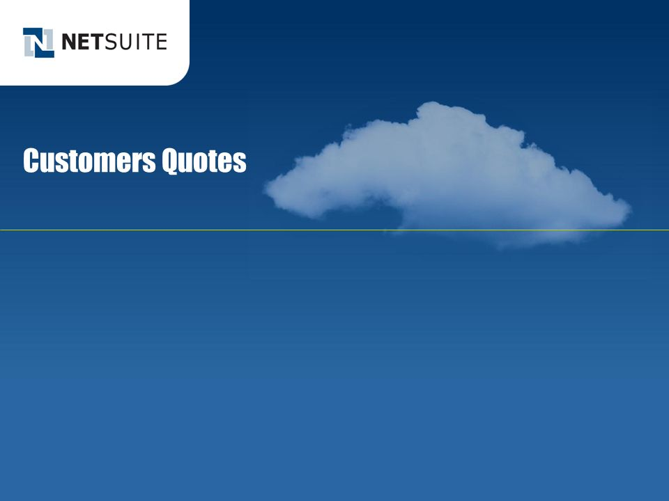 Customers Quotes