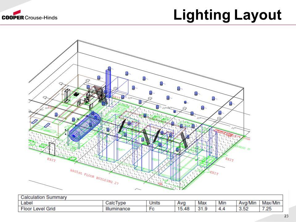 23 Lighting Layout