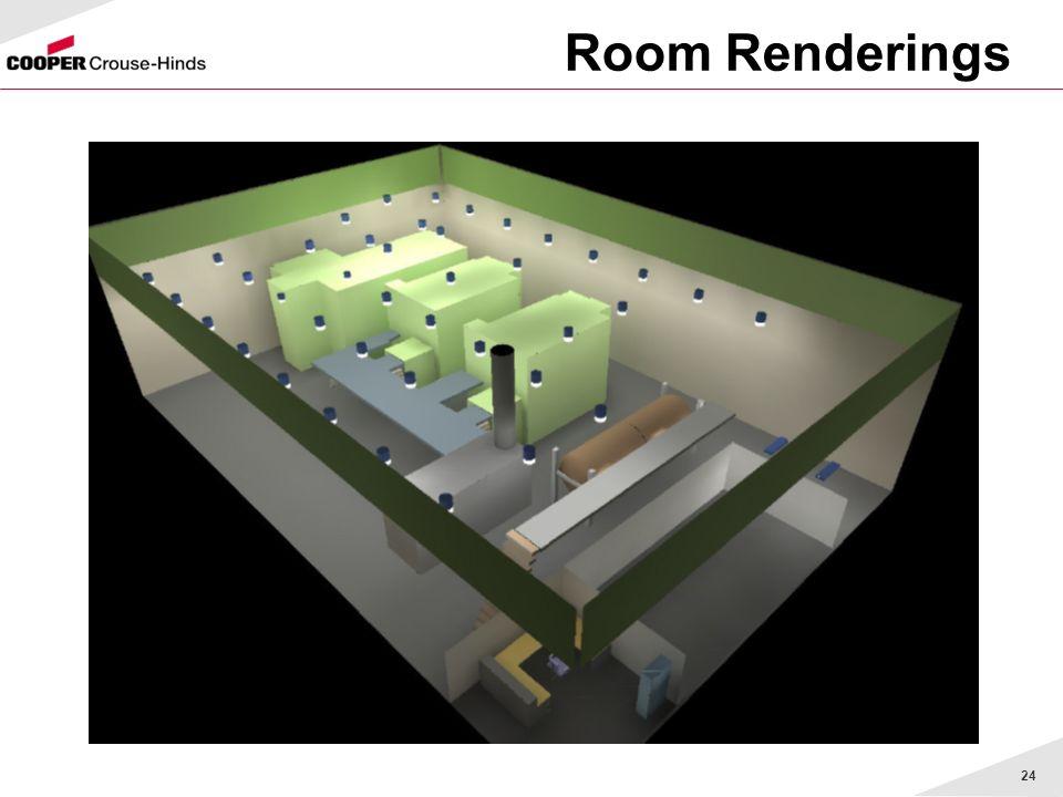 24 Room Renderings