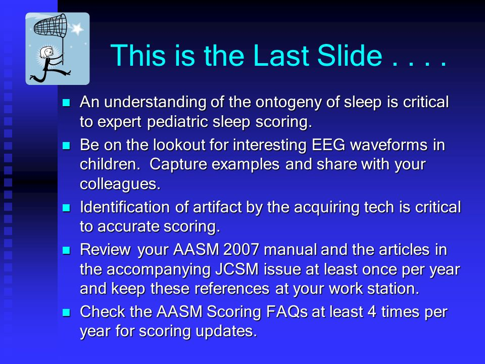 This is the Last Slide....