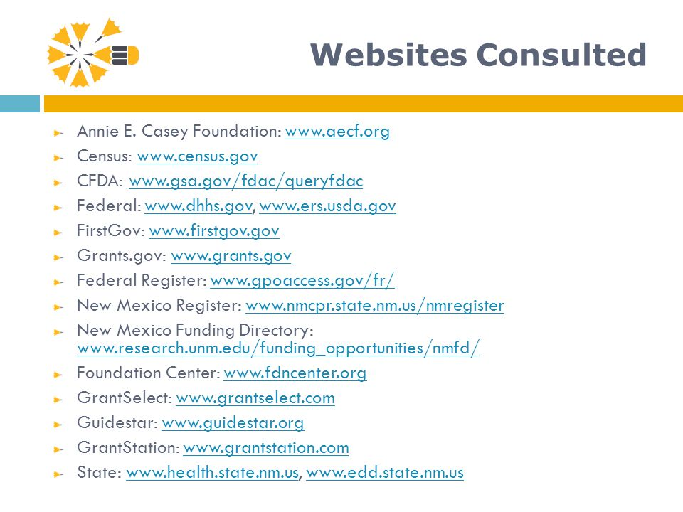 Websites Consulted Annie E.