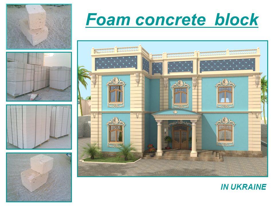 Foam concrete – definition and physical characteristics Foam concrete is a type of porous concrete.