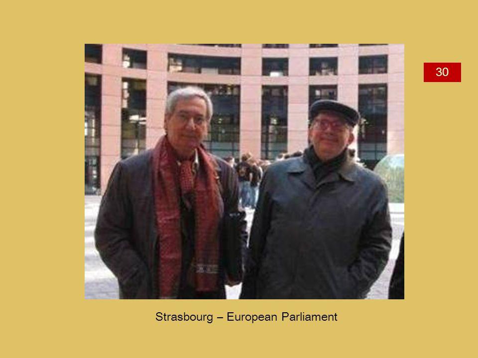 Strasbourg – European Parliament 30