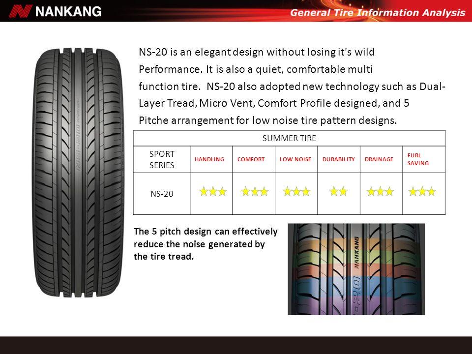 Rigidity Enhance The tire shoulder rigidity design could prevent irregular wear.