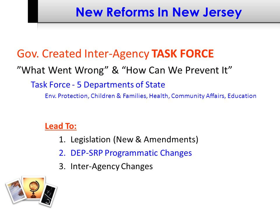 New Reforms In New Jersey Gov.