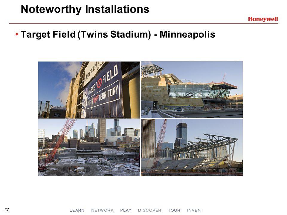 37 Noteworthy Installations Target Field (Twins Stadium) - Minneapolis