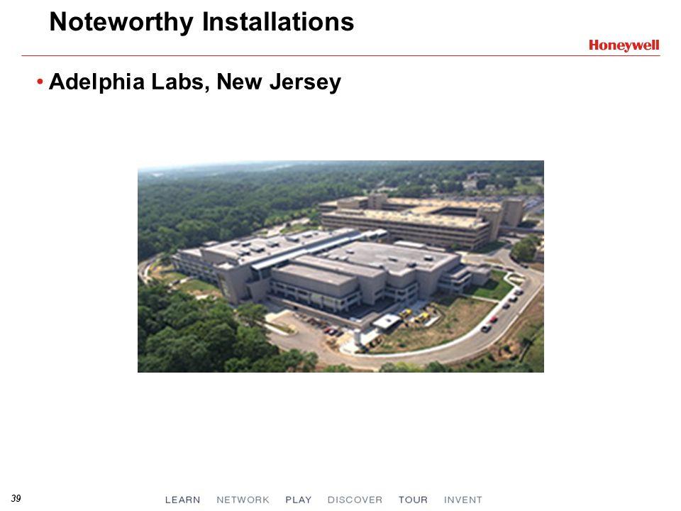 39 Noteworthy Installations Adelphia Labs, New Jersey