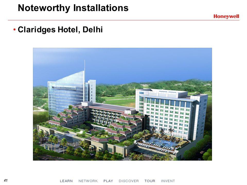 41 Noteworthy Installations Claridges Hotel, Delhi