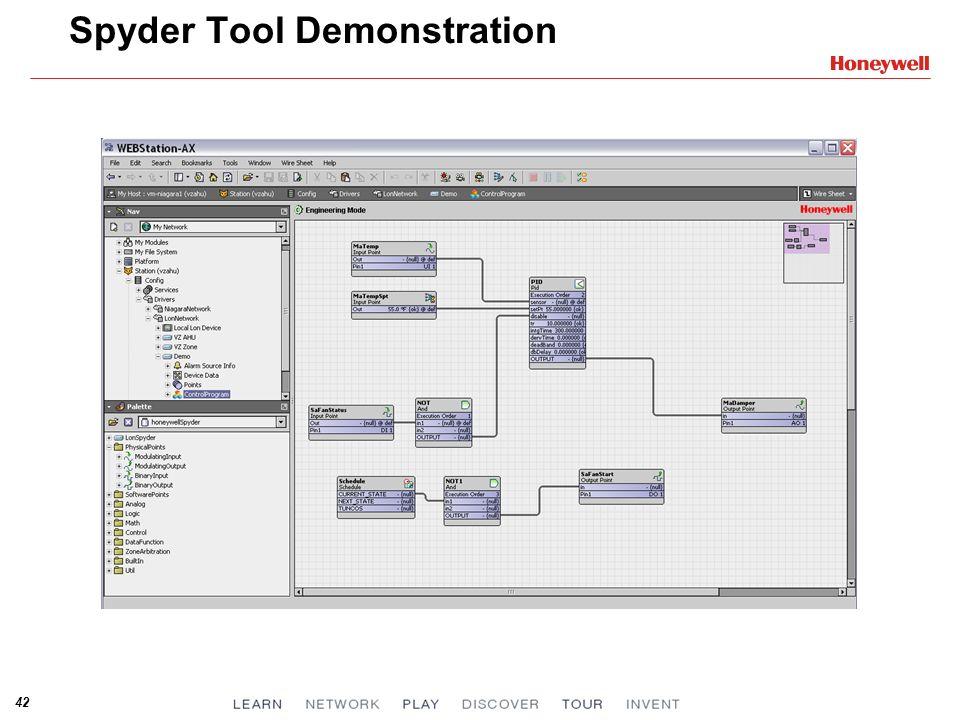 42 Spyder Tool Demonstration