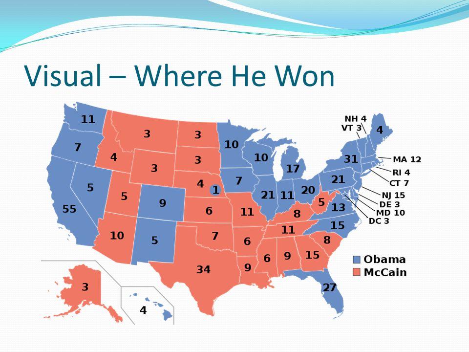 Visual – Where He Won