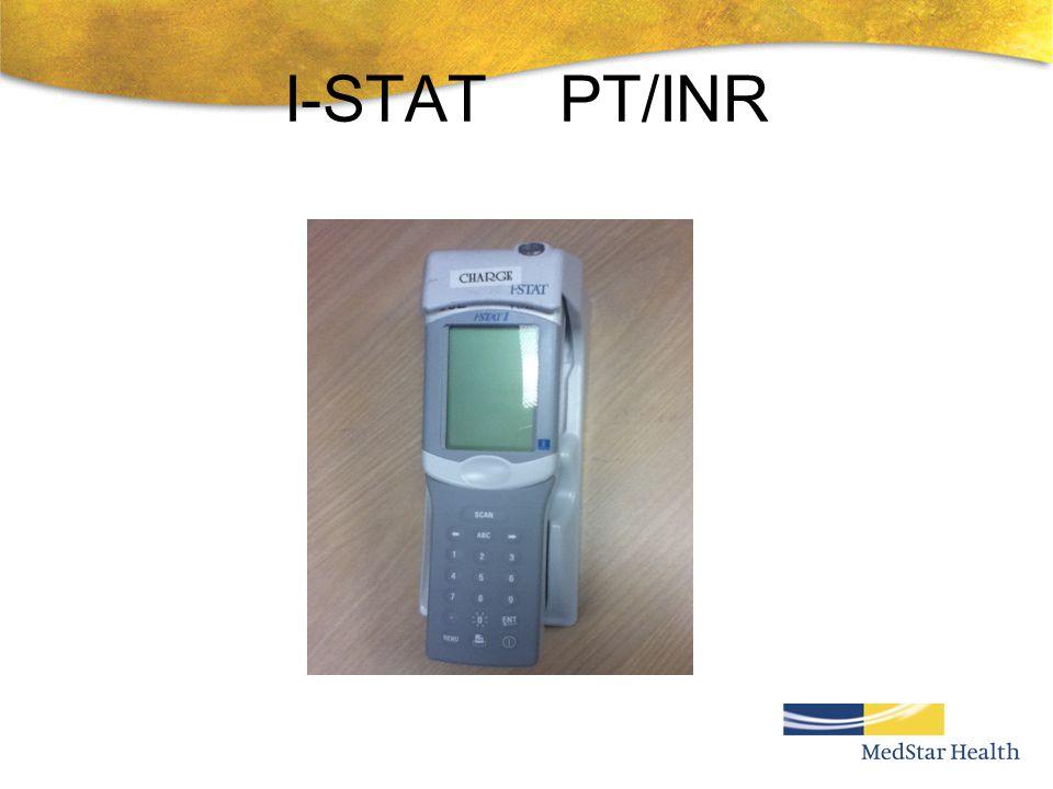 I-STAT PT/INR