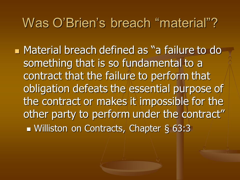 Ohio Court of Claims Decision 2006 Ohio 1104 (Feb. 15, 2006) Judgment for OBrien-OSU breached contract Judgment for OBrien-OSU breached contract Judge