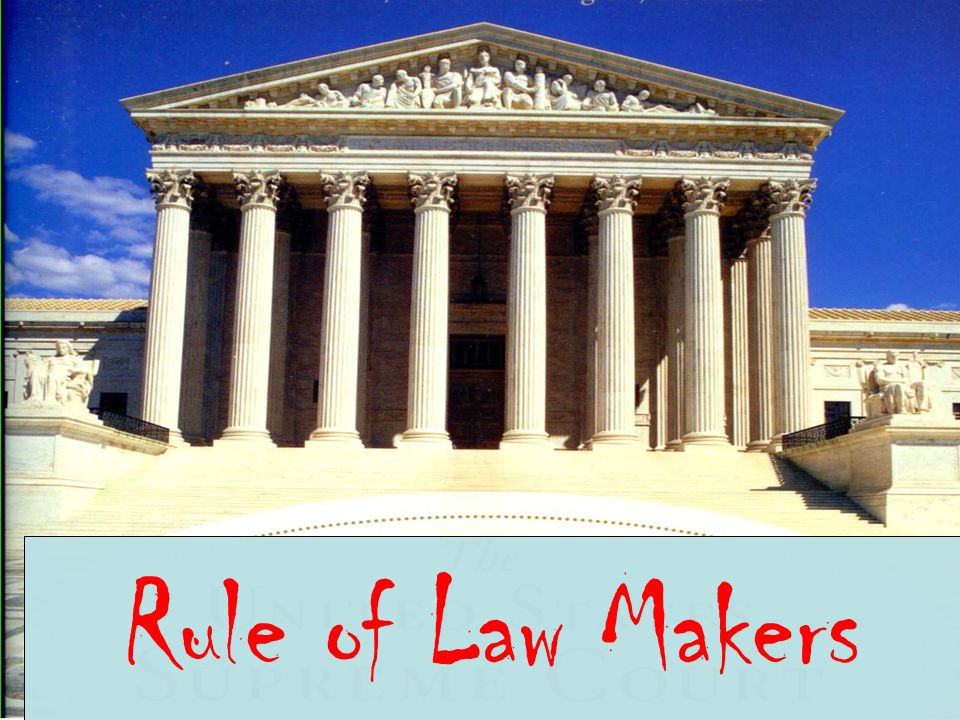 Rule of Law Makers