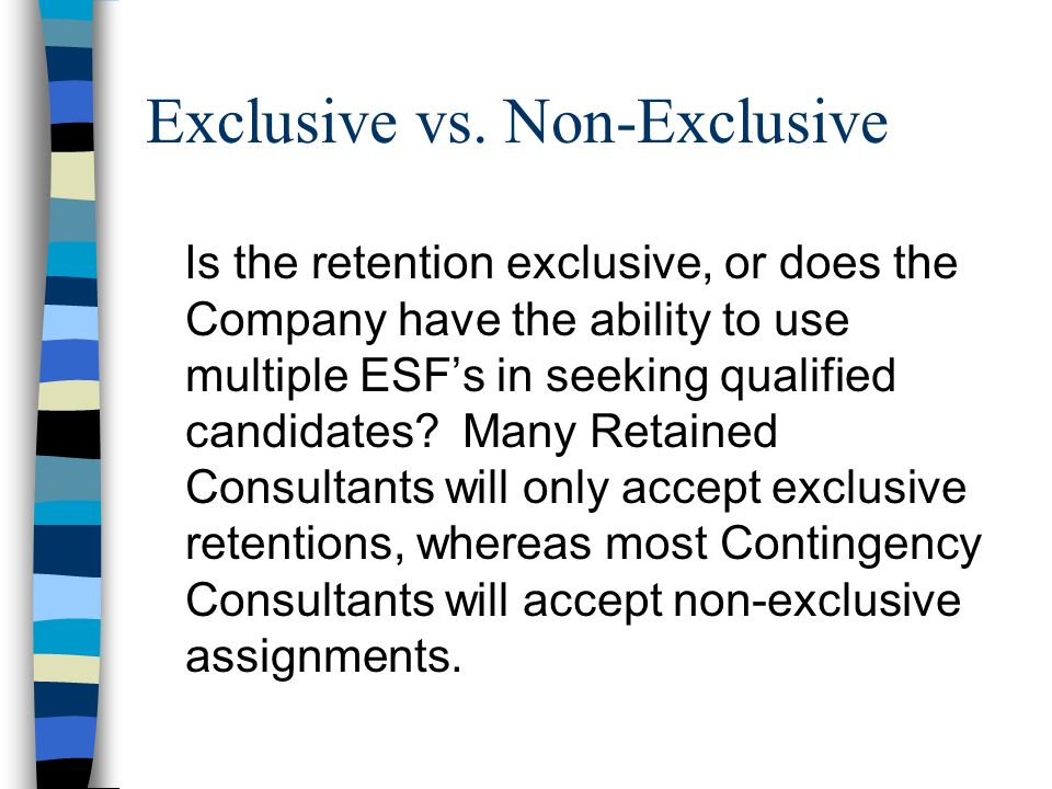 Use and Return of Confidential Data and Materials Often the ESF is provided with sensitive and highly confidential information and materials in connection with the retention.