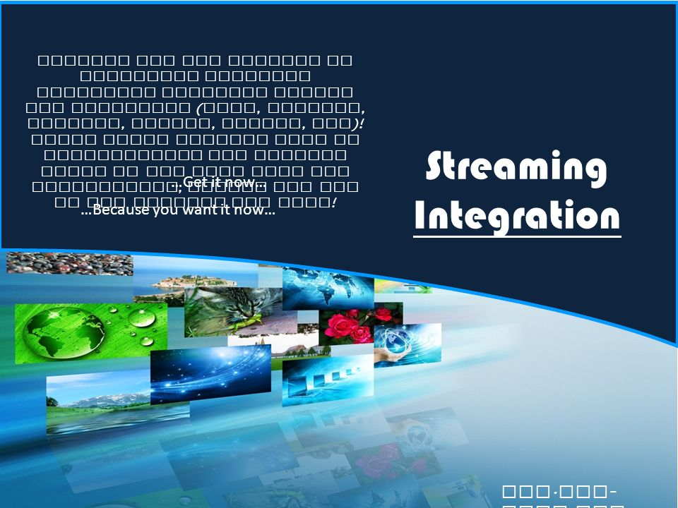 Streaming Integration Ripwave has the ability to integrate numerous streaming services inside the interface ( Hulu, Netflix, YouTube, Amazon, Redbox, etc ).