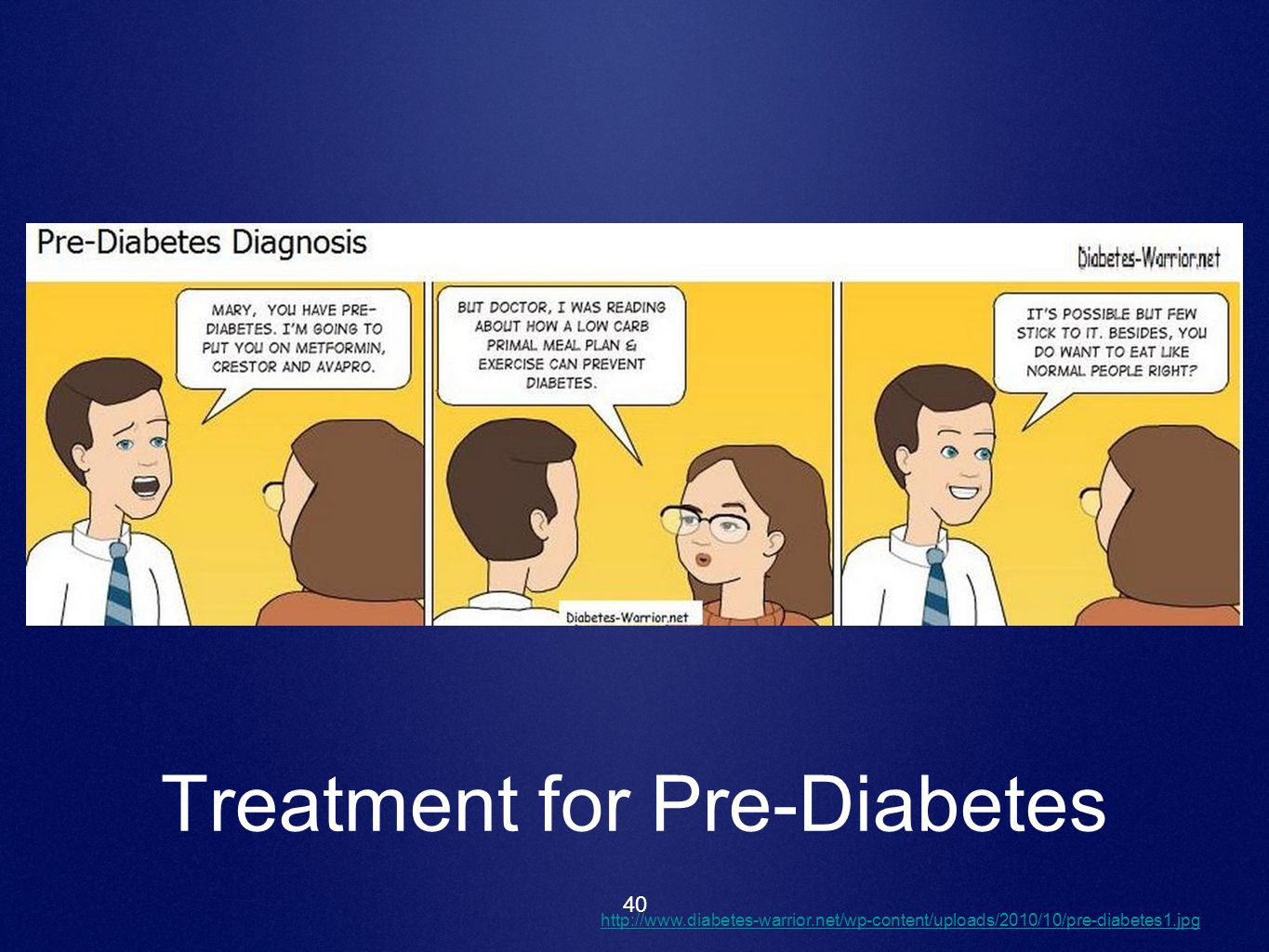 40 Treatment for Pre-Diabetes http://www.diabetes-warrior.net/wp-content/uploads/2010/10/pre-diabetes1.jpg