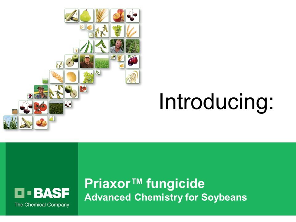 Priaxor fungicide Advanced Chemistry for Soybeans Introducing: