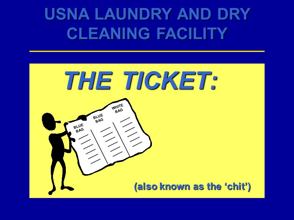 USNA LAUNDRY AND DRY CLEANING FACILITY RULES FOR FILLING NETS: 122136 fill line