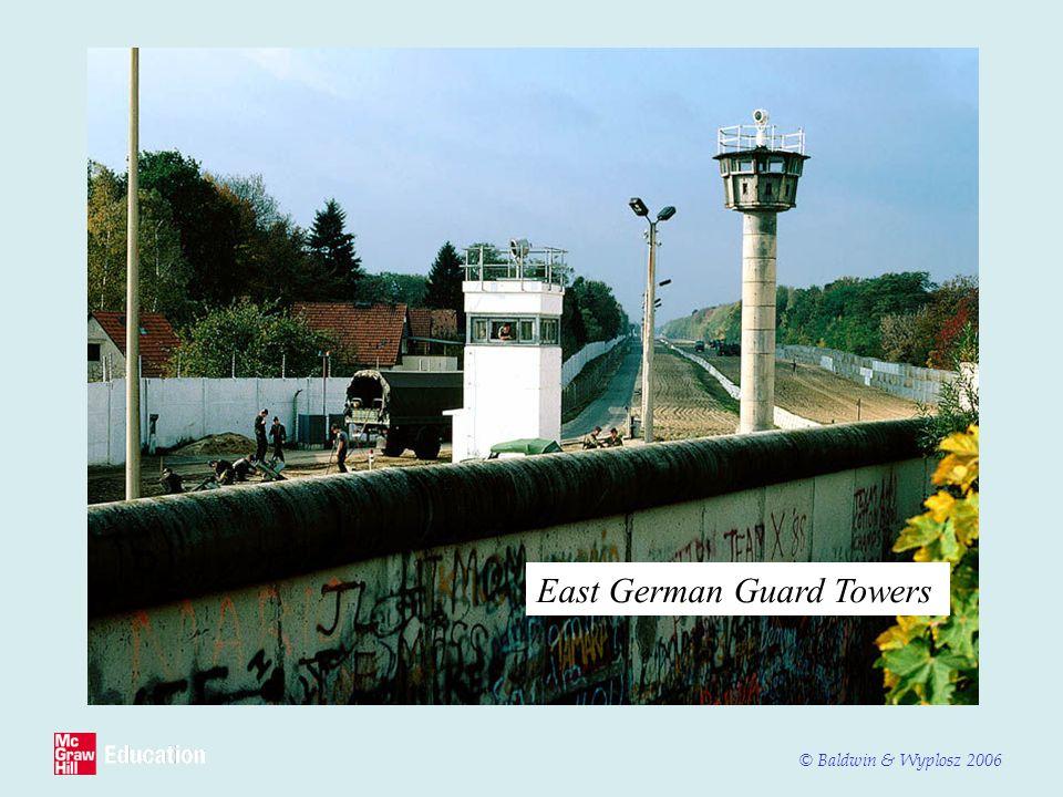 East German Guard Towers