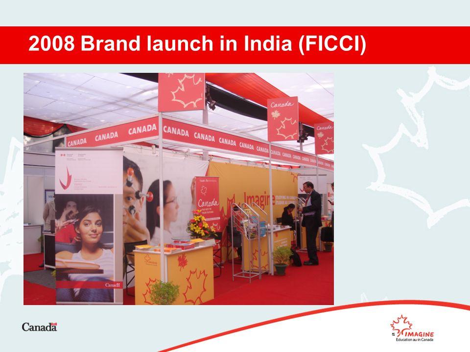 2008 Brand launch in India (FICCI)