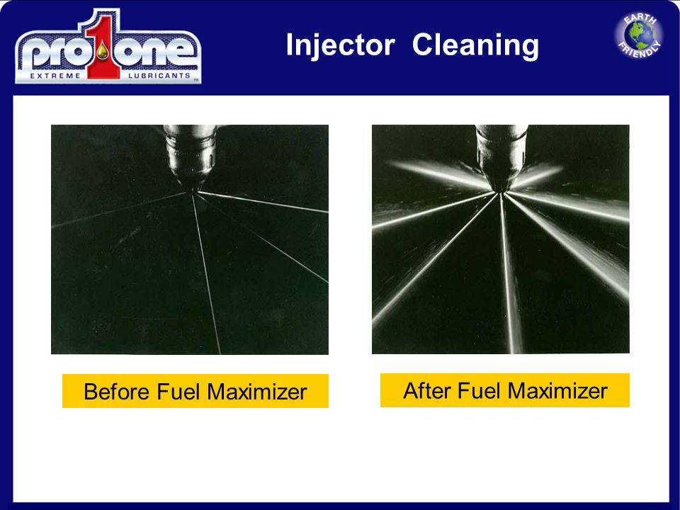 11 Injector Cleaning With Fuel MaximizerWithout Fuel Maximizer