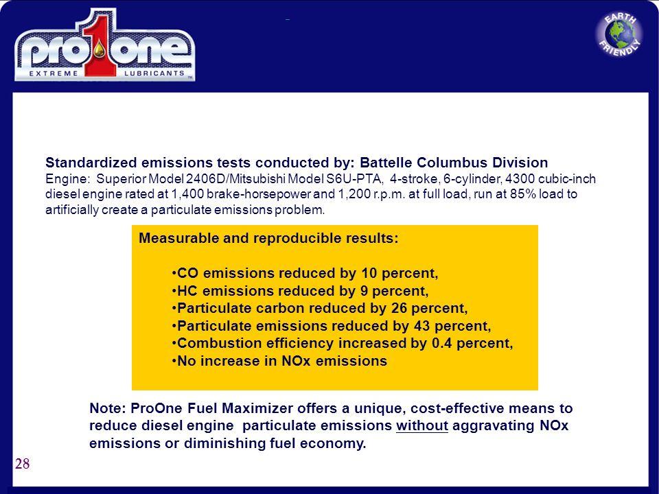 27 N.O.X. Reduction Case Study: Clark County School Buses (Bio Diesel Fuel) NOx Testing with Biodiesel