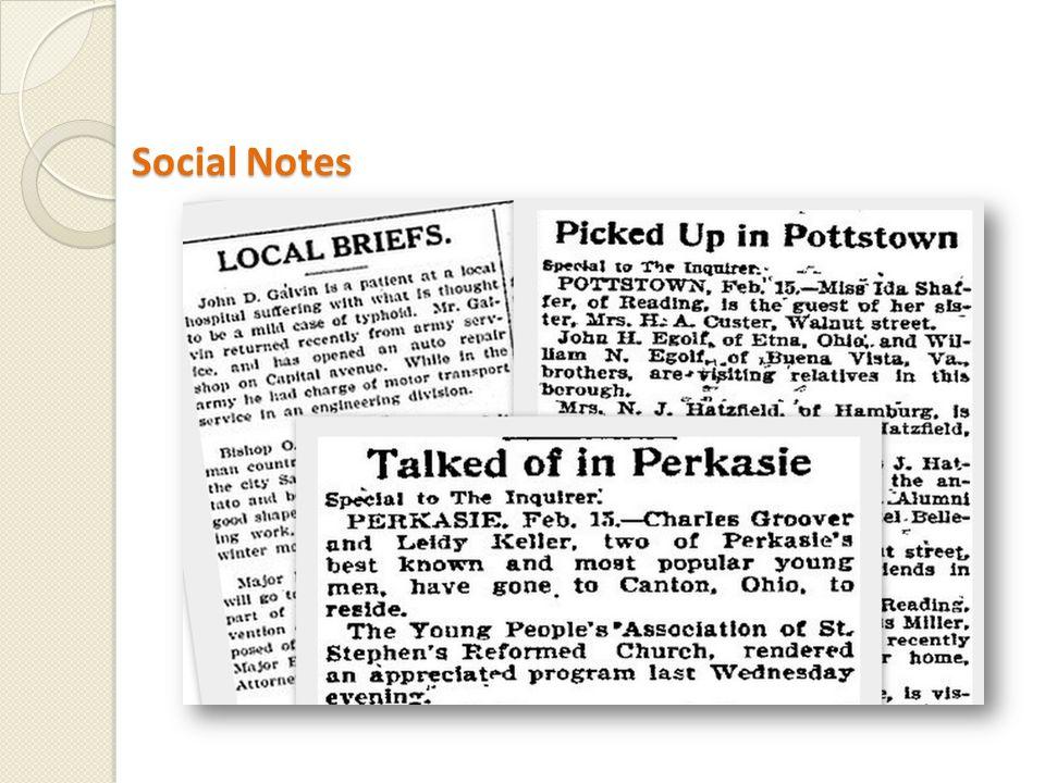 Social Notes Social Notes
