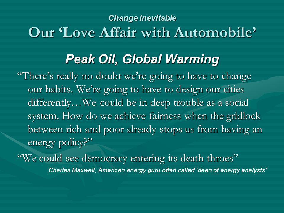 Social Marketing Global Warming Externality Transportation causes 33 percent of US CO 2 emissions – 1,959 million metric tons; the largest single amount in economy – while producing 11 percent GDPTransportation causes 33 percent of US CO 2 emissions – 1,959 million metric tons; the largest single amount in economy – while producing 11 percent GDP C0 2 emissions to GDP fell 23 percent since 1990 due to drops in industrial and commercial emissions amid overall economic gainsC0 2 emissions to GDP fell 23 percent since 1990 due to drops in industrial and commercial emissions amid overall economic gains U.S.